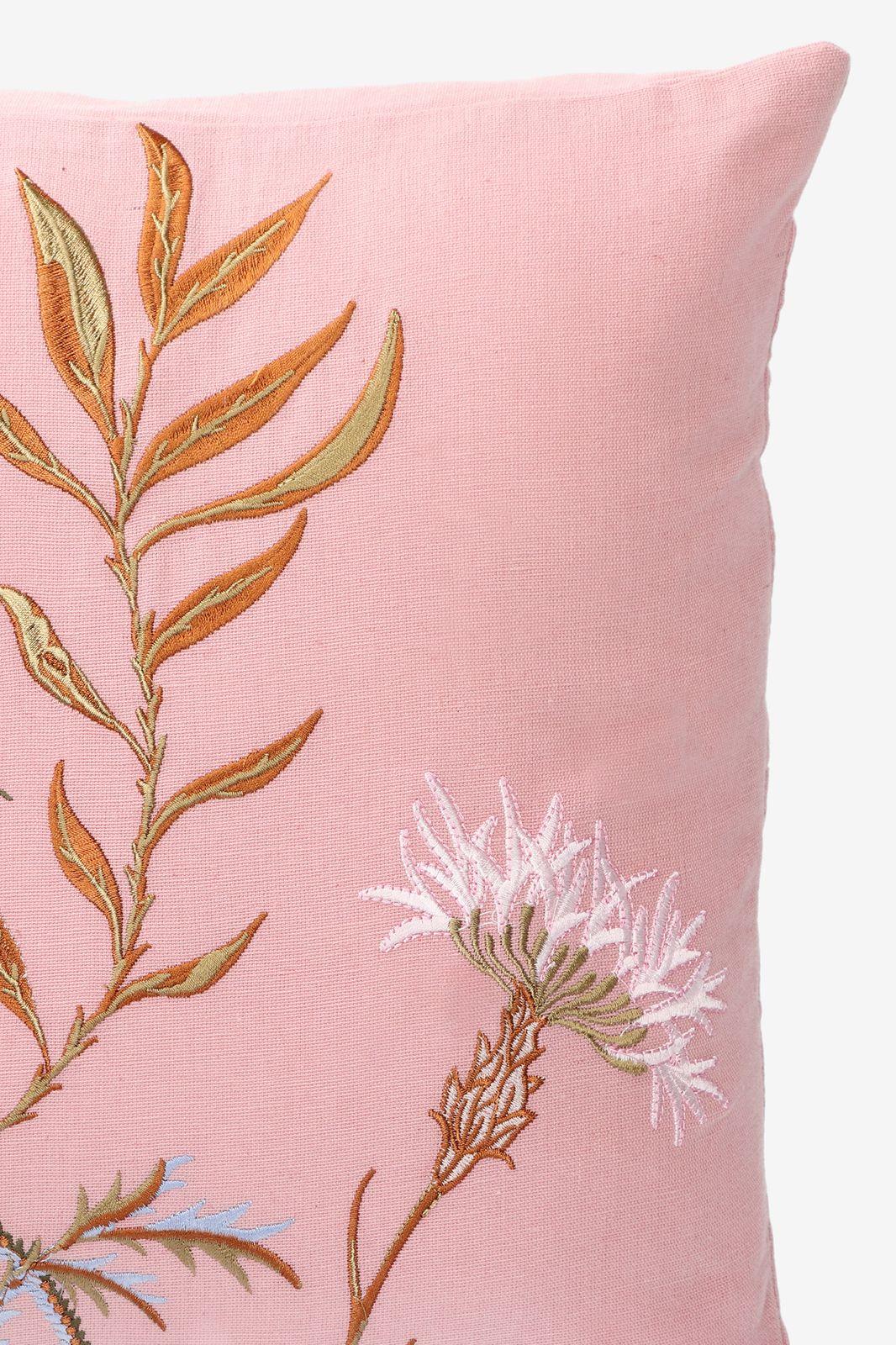 Roze sierkussen bloemen - Homeland | Sissy-Boy