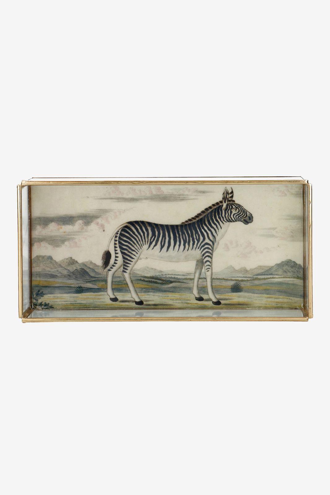 Gouden decoratie box zebra - Homeland | Sissy-Boy