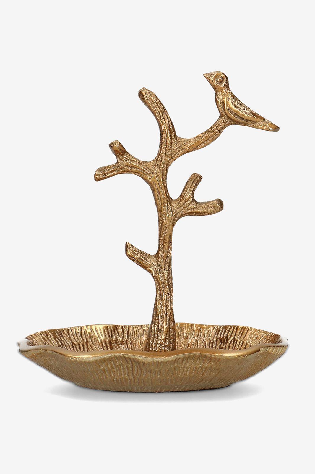 Gouden sieradenhouder boom (klein)