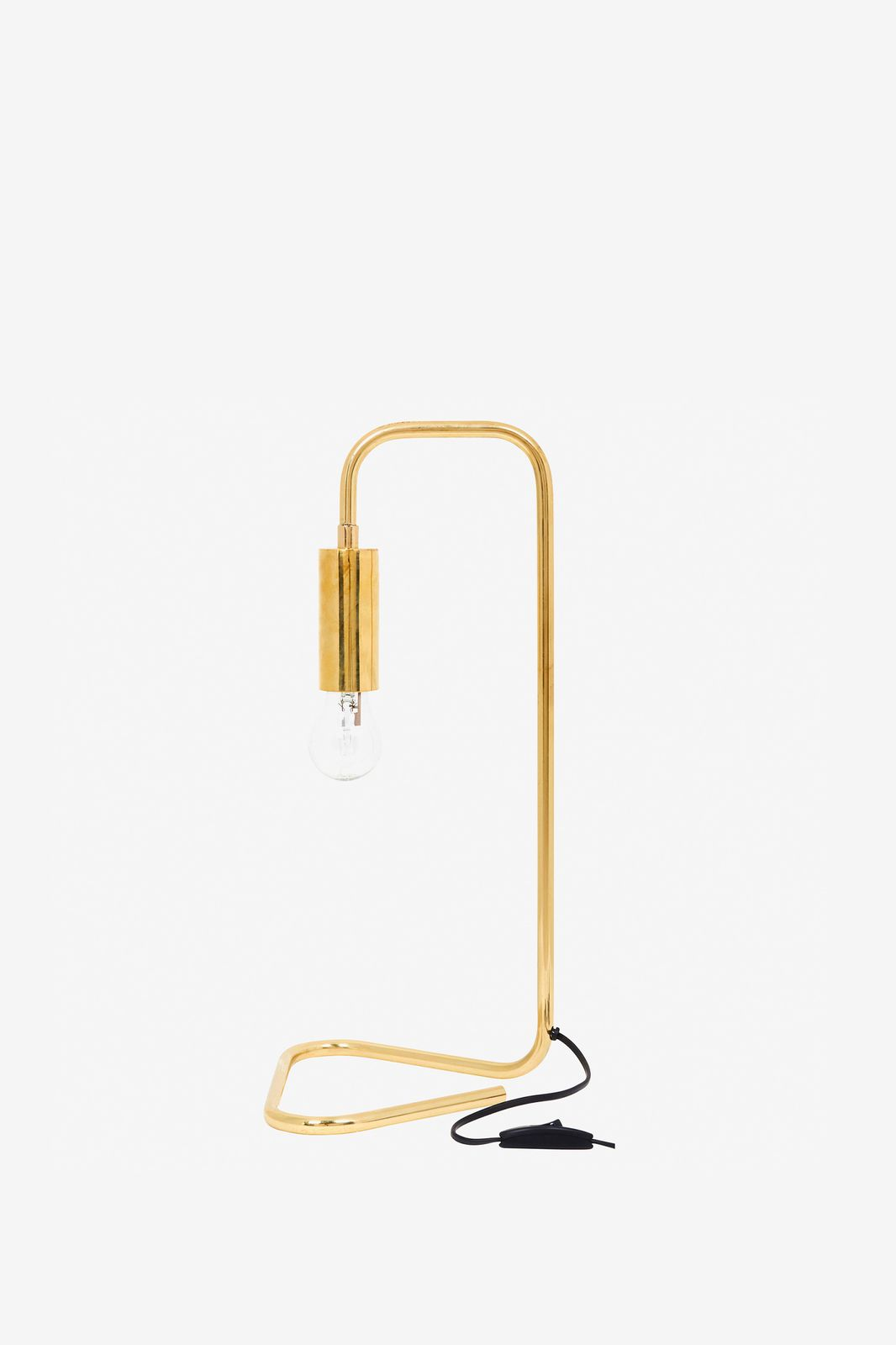 Gouden tafellamp koper