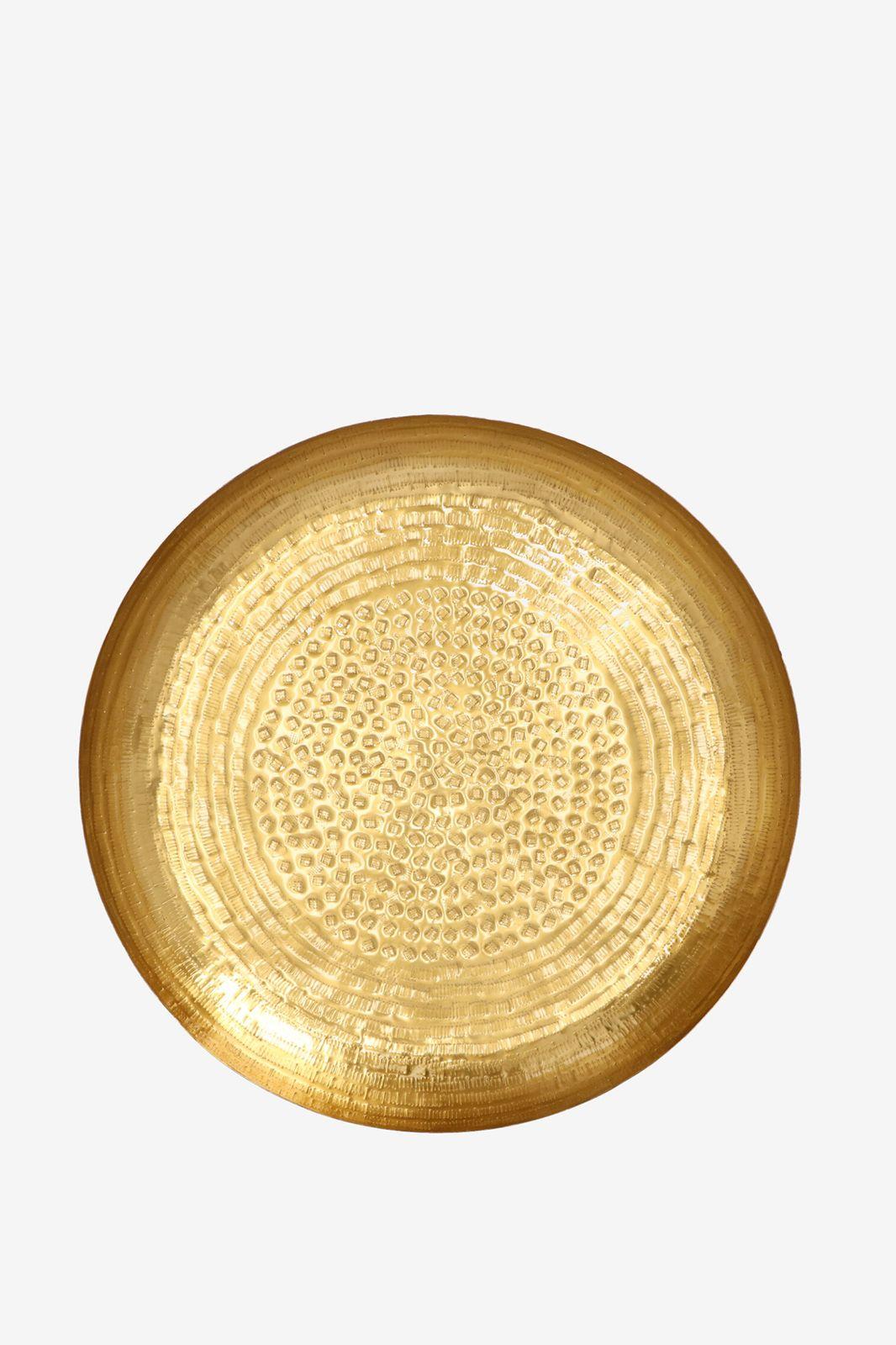 Gouden ronde schaal - Homeland | Sissy-Boy