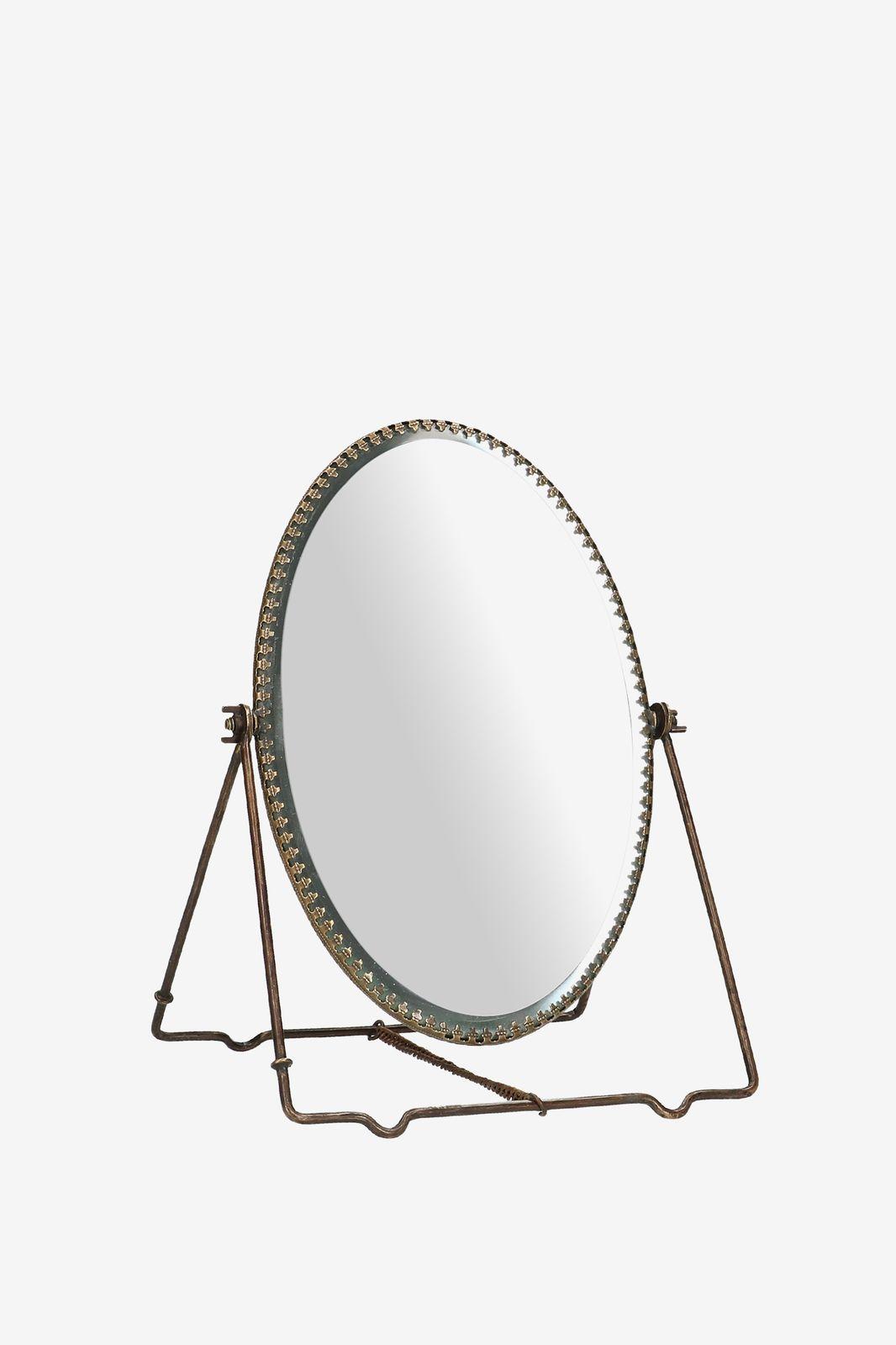 Gouden tafel spiegel ovaal - Homeland | Sissy-Boy