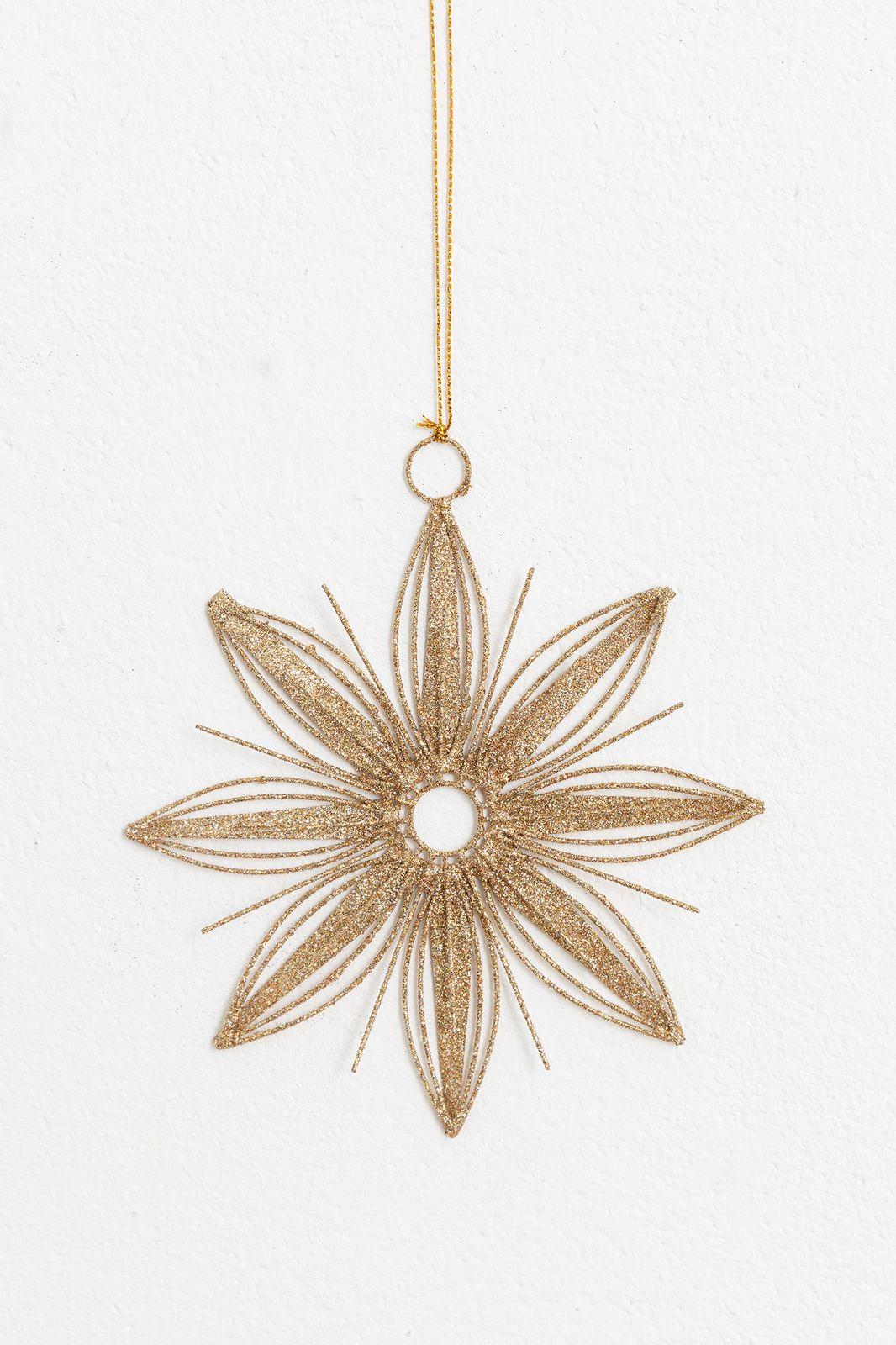 Kersthanger bloem