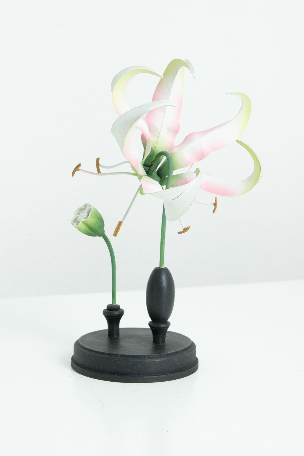 Ornament gloriosa bloem