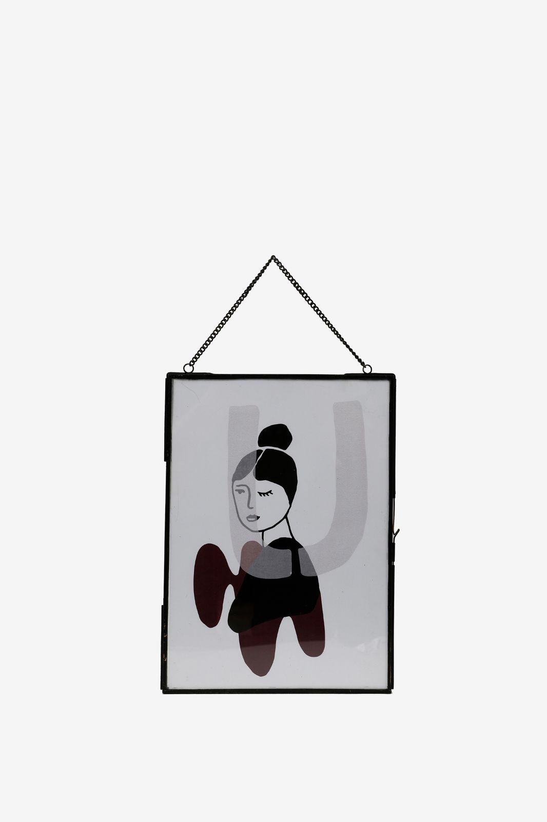 Fotolijst zwart hangend (22x30 cm) - Homeland | Sissy-Boy