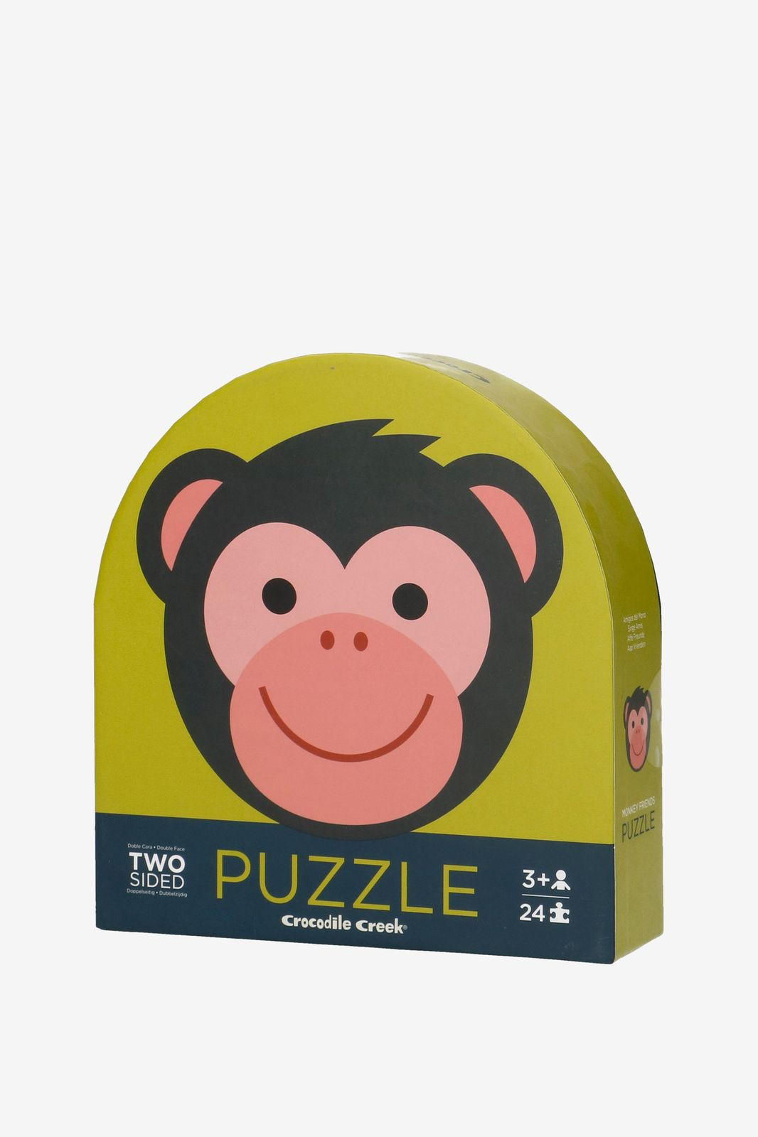 Puzzel tweezijdig aap