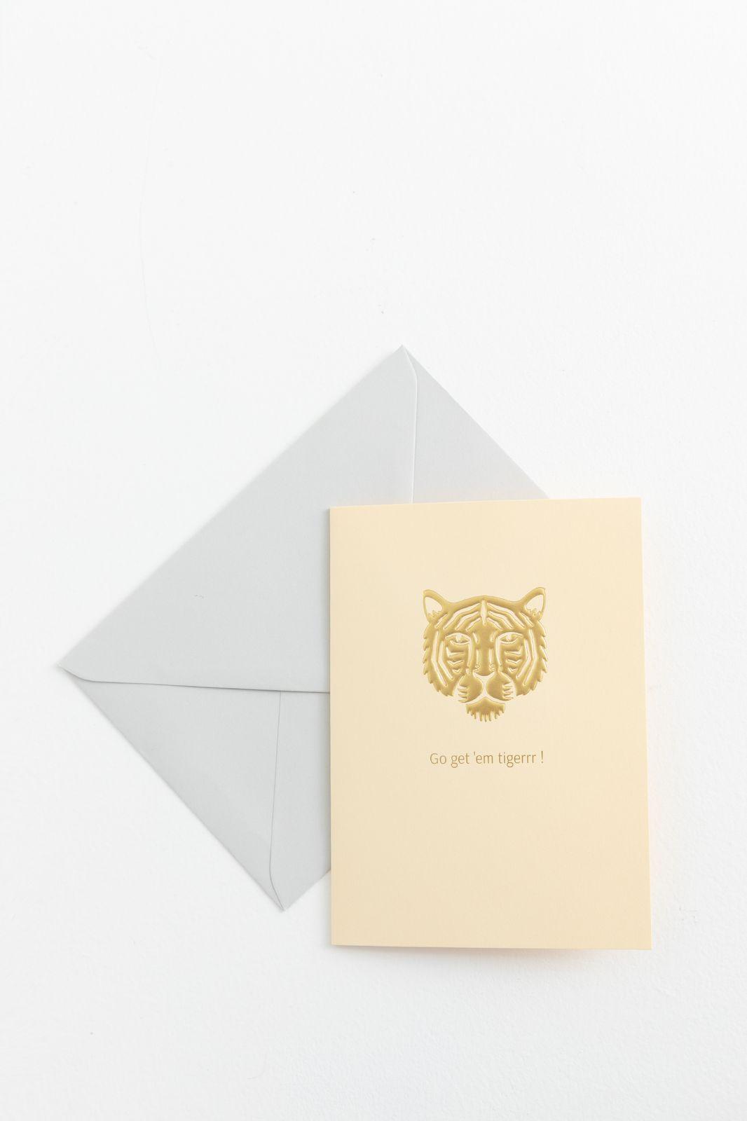 Postkaart Tiger - Homeland | Sissy-Boy