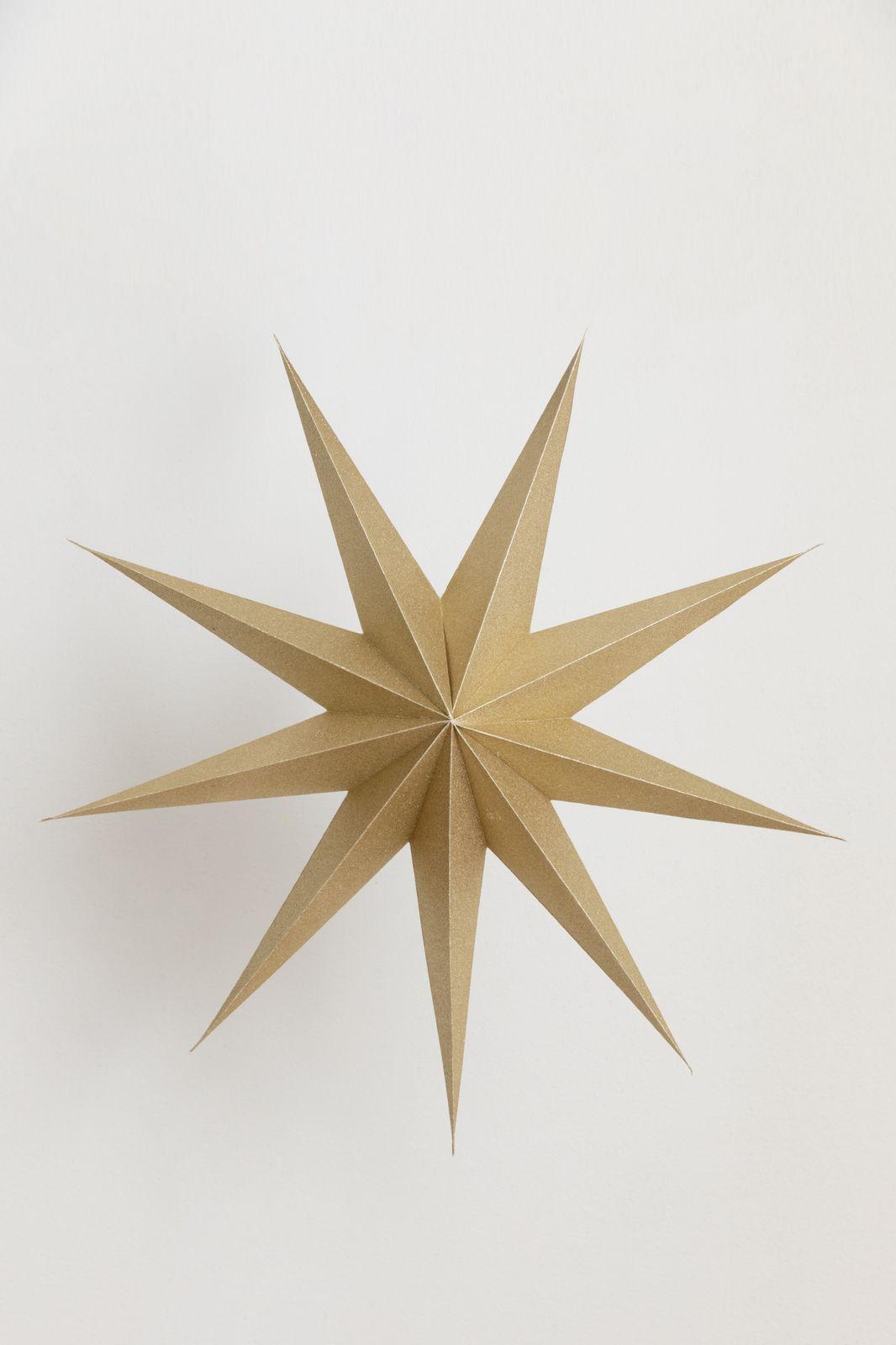 Gouden ster (80 cm)