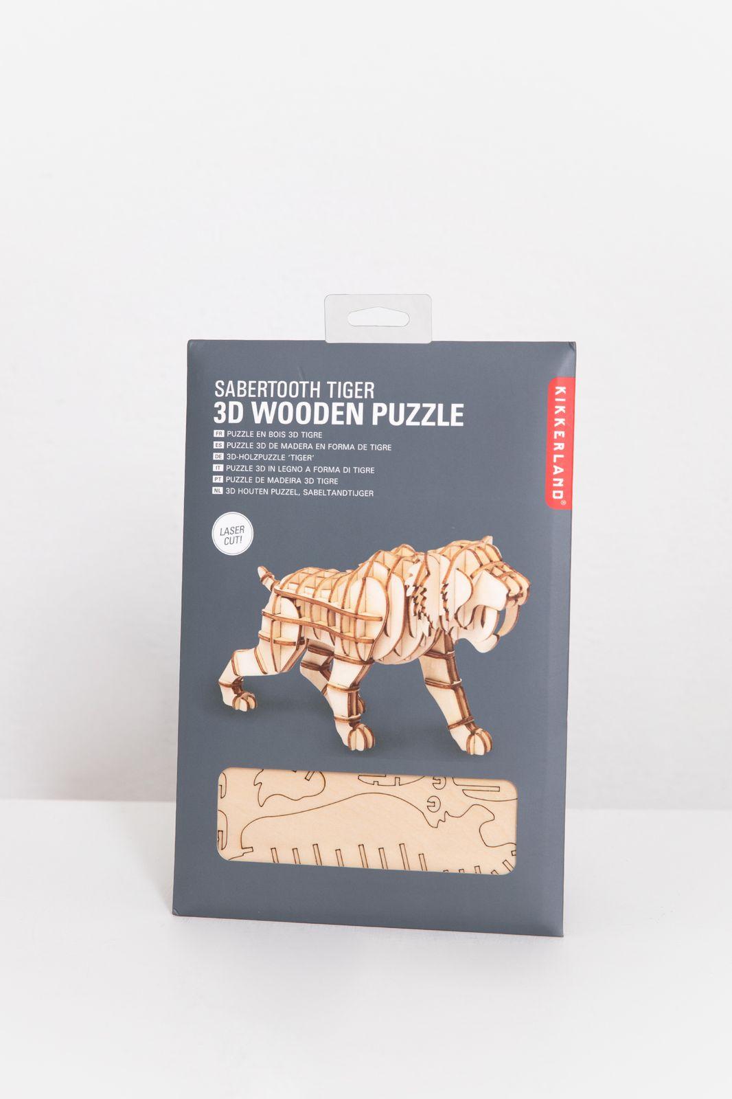 3D sabertooth tiger puzzel - Homeland   Sissy-Boy