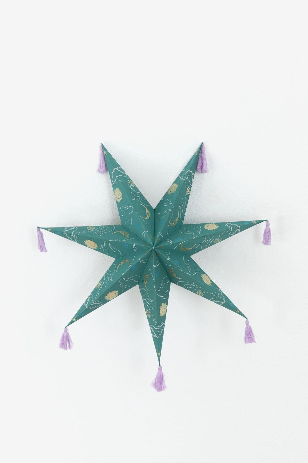 Groene ster met tassels (44 cm) - Homeland | Sissy-Boy