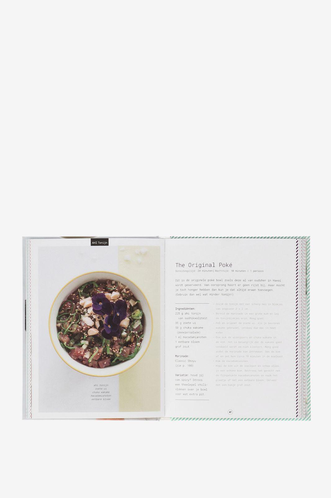 Het poké kookboek