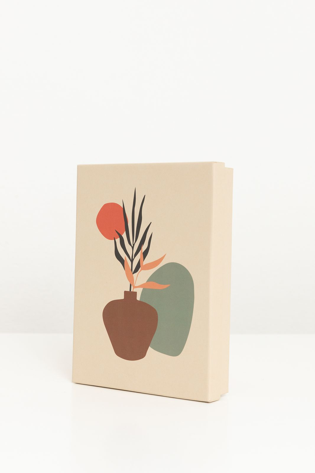 Papieren opbergbox met planten artwork A5 - Homeland   Sissy-Boy