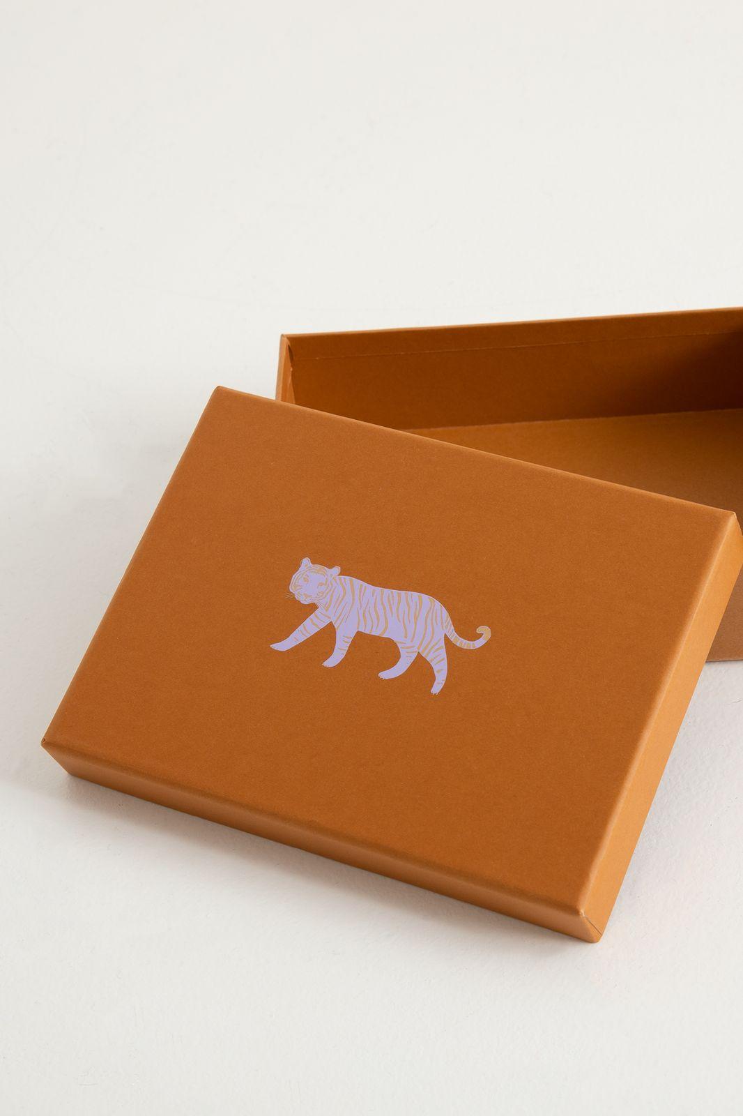 Papieren opbergbox tiger A6 - Homeland   Sissy-Boy