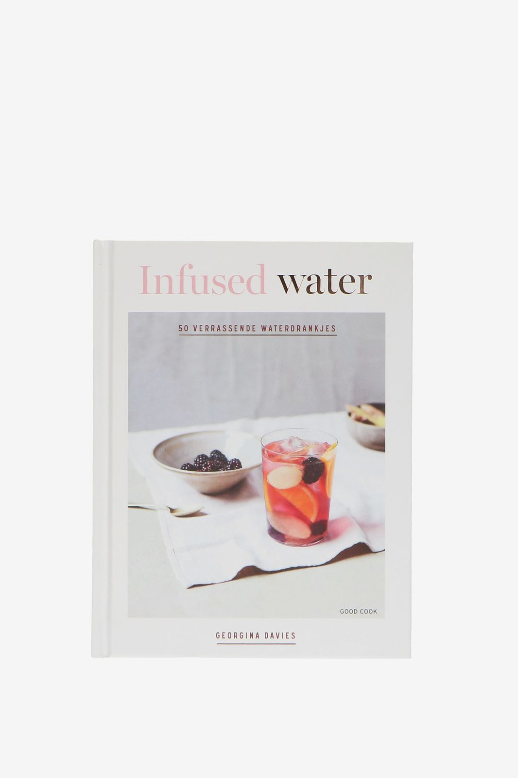 Boek infused water