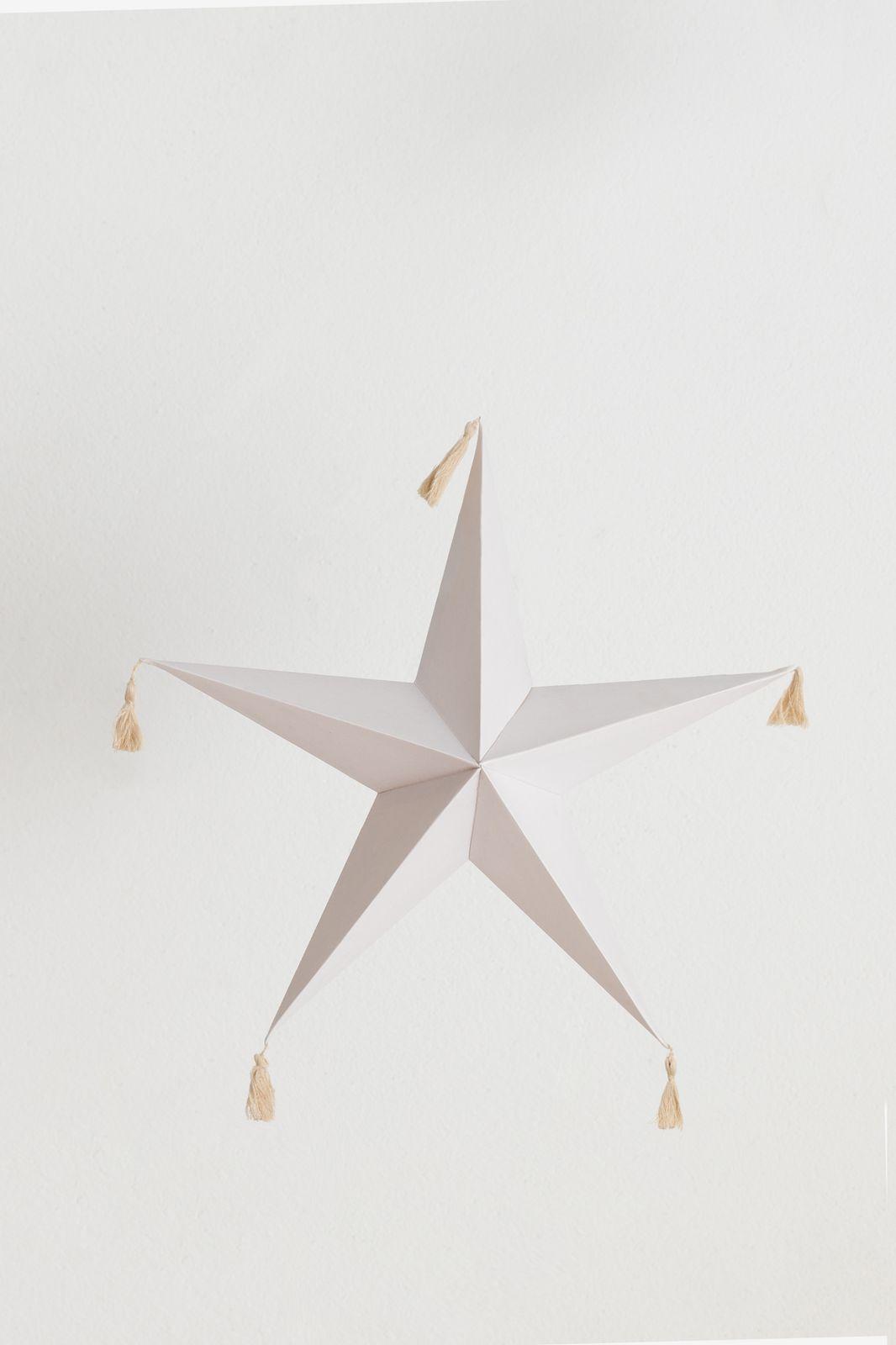 Witte ster tassels (44 cm) - Homeland | Sissy-Boy