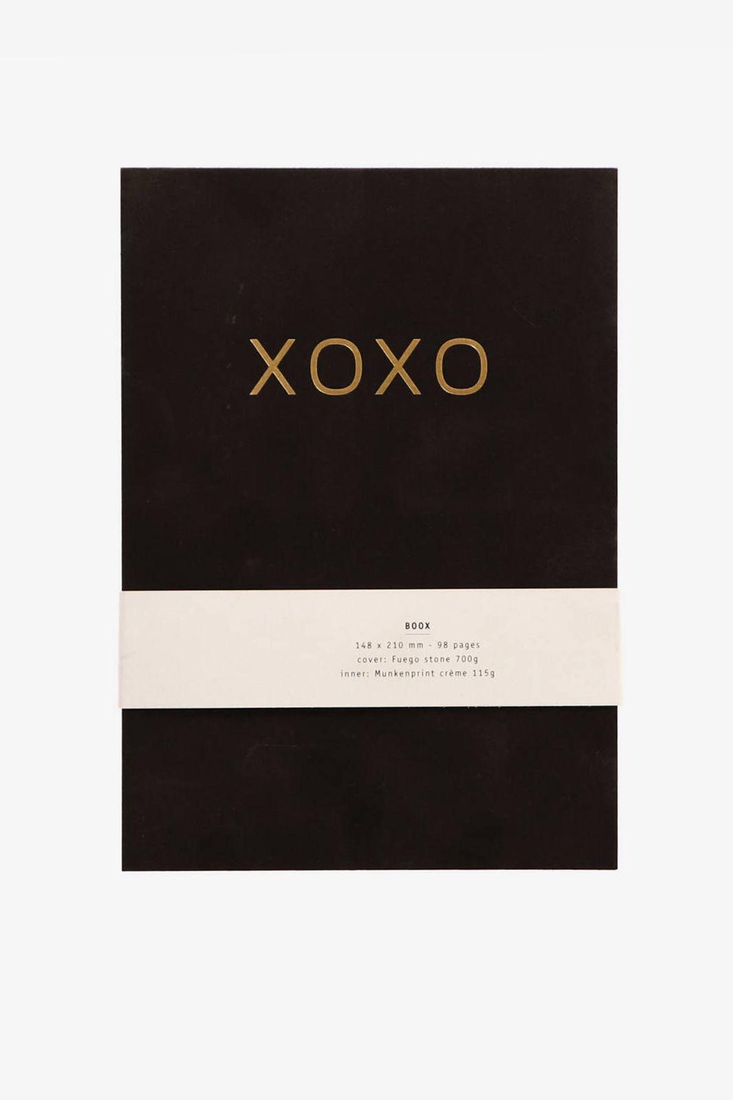 Zwart notitieboek XOXO - Homeland | Sissy-Boy