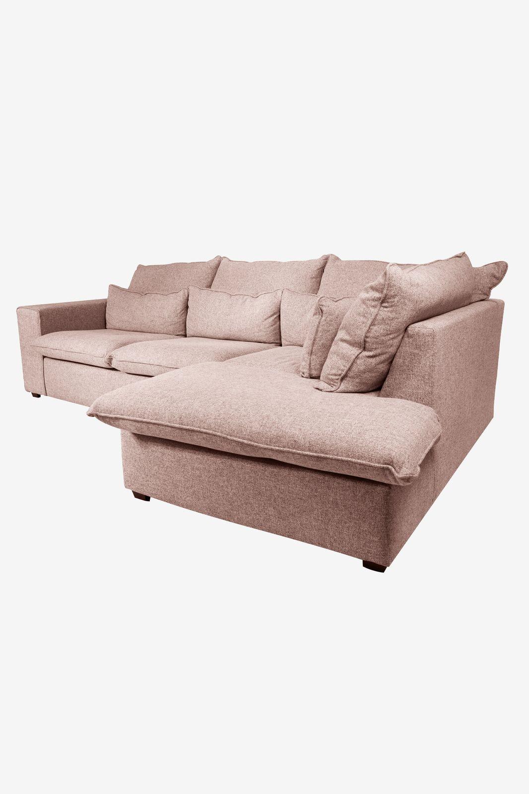 Baron bank 2.5-zits lounge rechts roze/karamel melee - Homeland | Sissy-Boy
