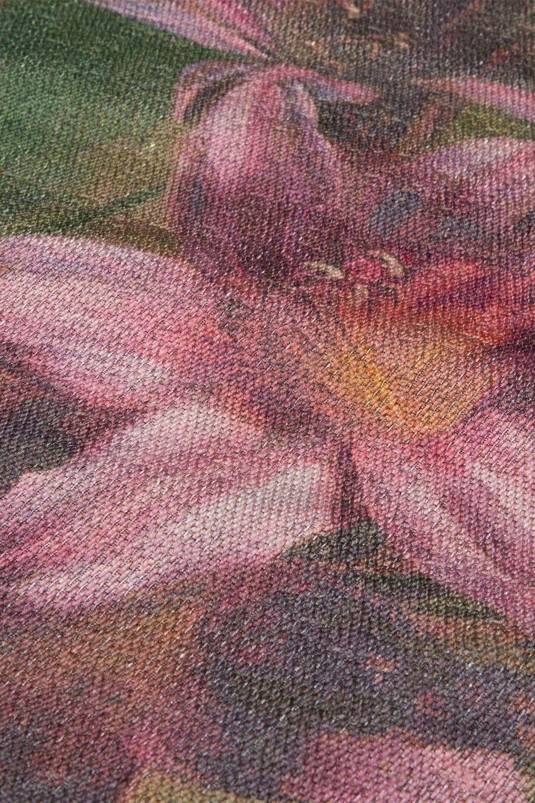 Multicolor rond vloerkleed bloemen - Homeland | Sissy-Boy