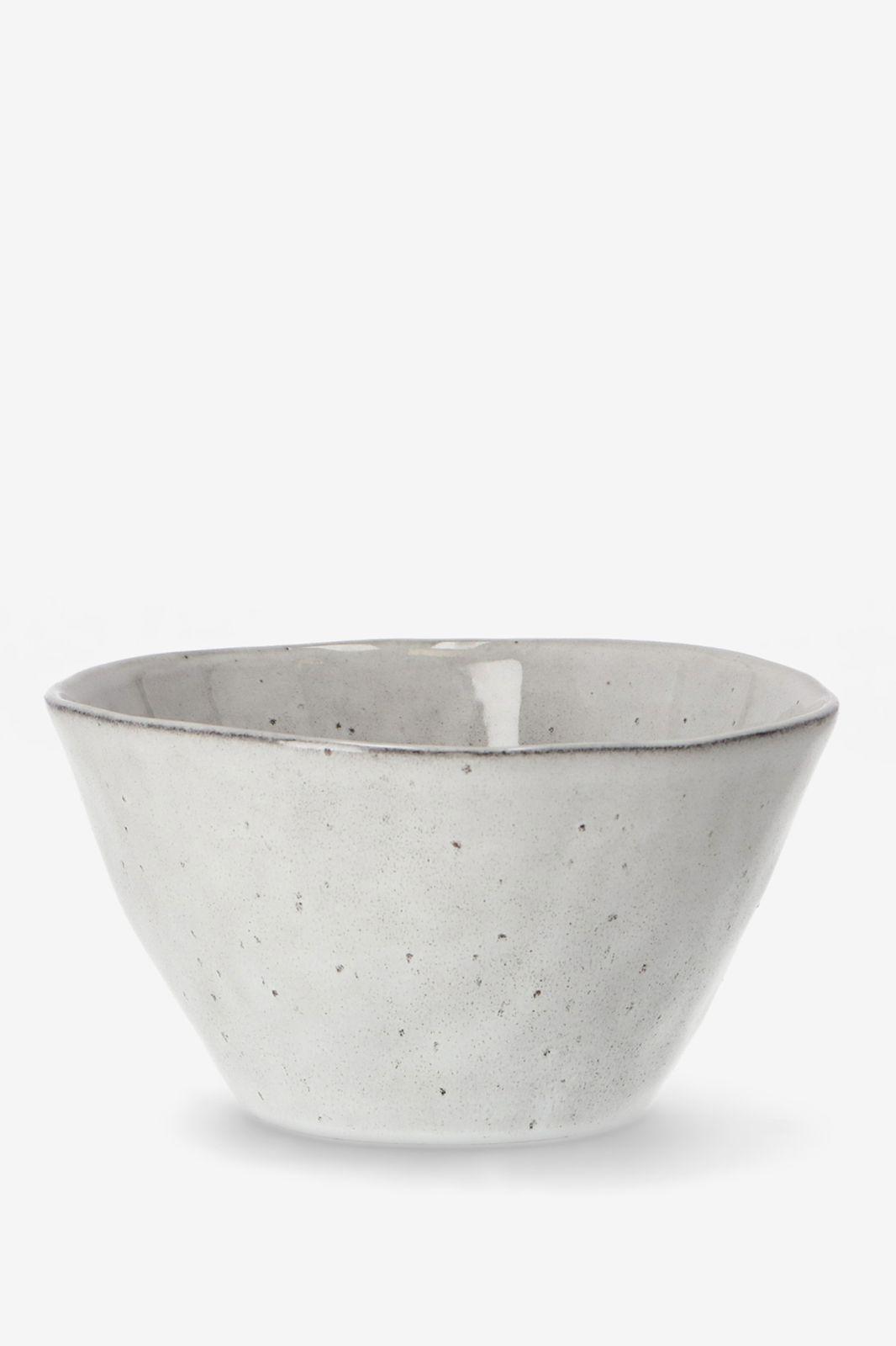 Diepe kom grey glaze