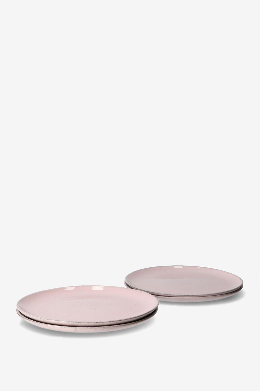 Dinerbord rose glaze