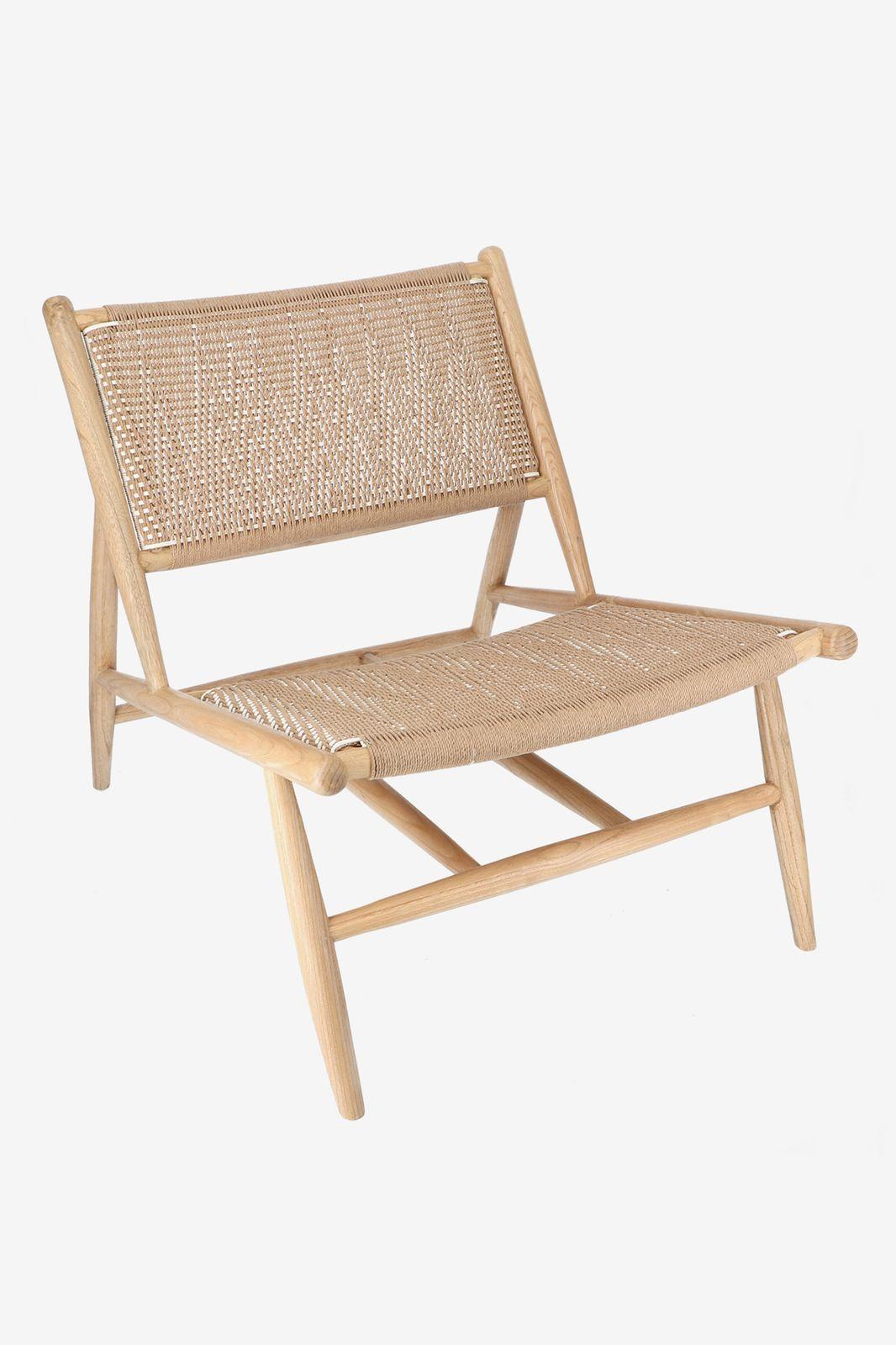 Houten rotan stoel - Homeland | Sissy-Boy