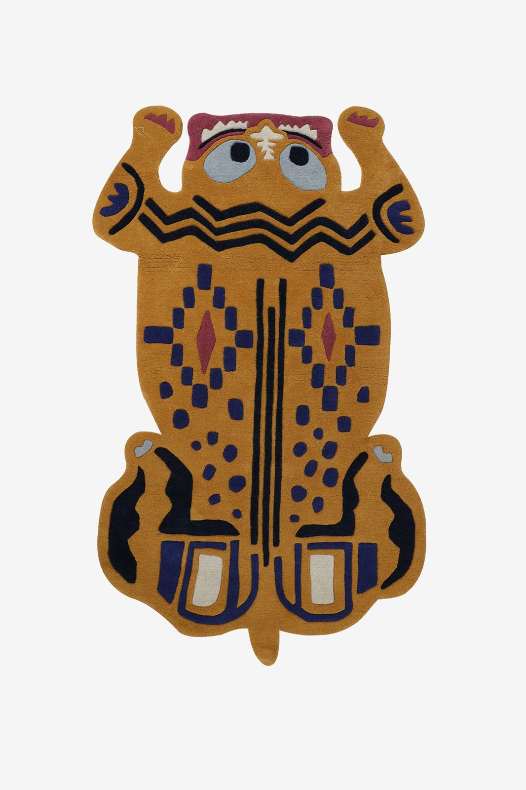 Vloerkleed tijger etnische print - Homeland | Sissy-Boy
