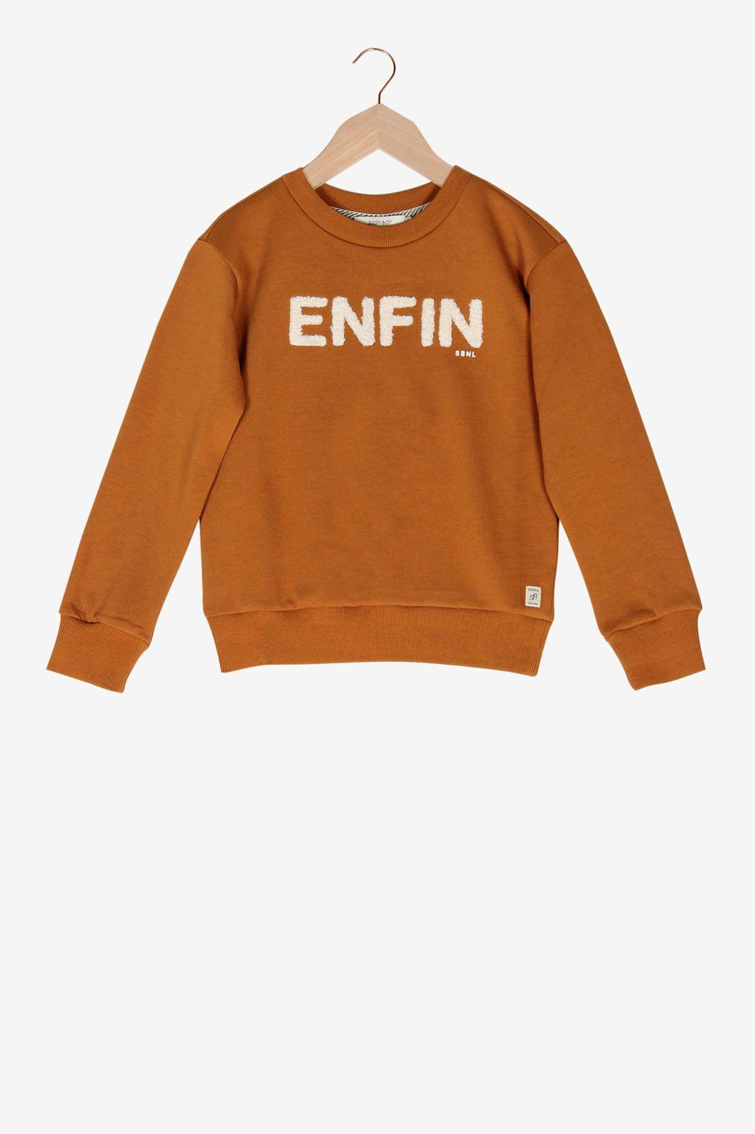 Oranje sweater - Kids | Sissy-Boy