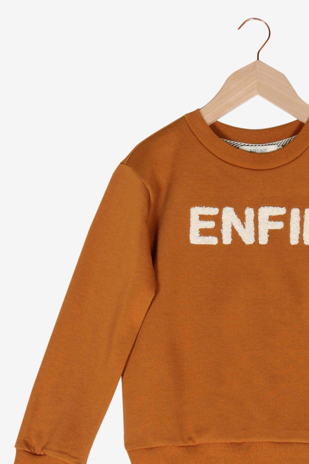 Oranje sweater - Kids   Sissy-Boy