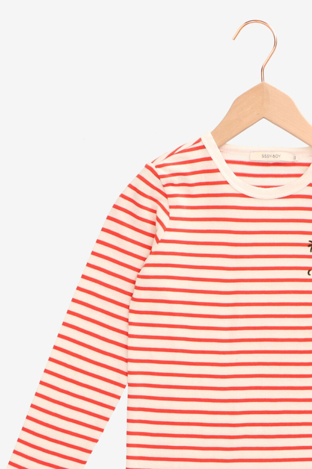Oranje T-shirt gestreept - Kids | Sissy-Boy