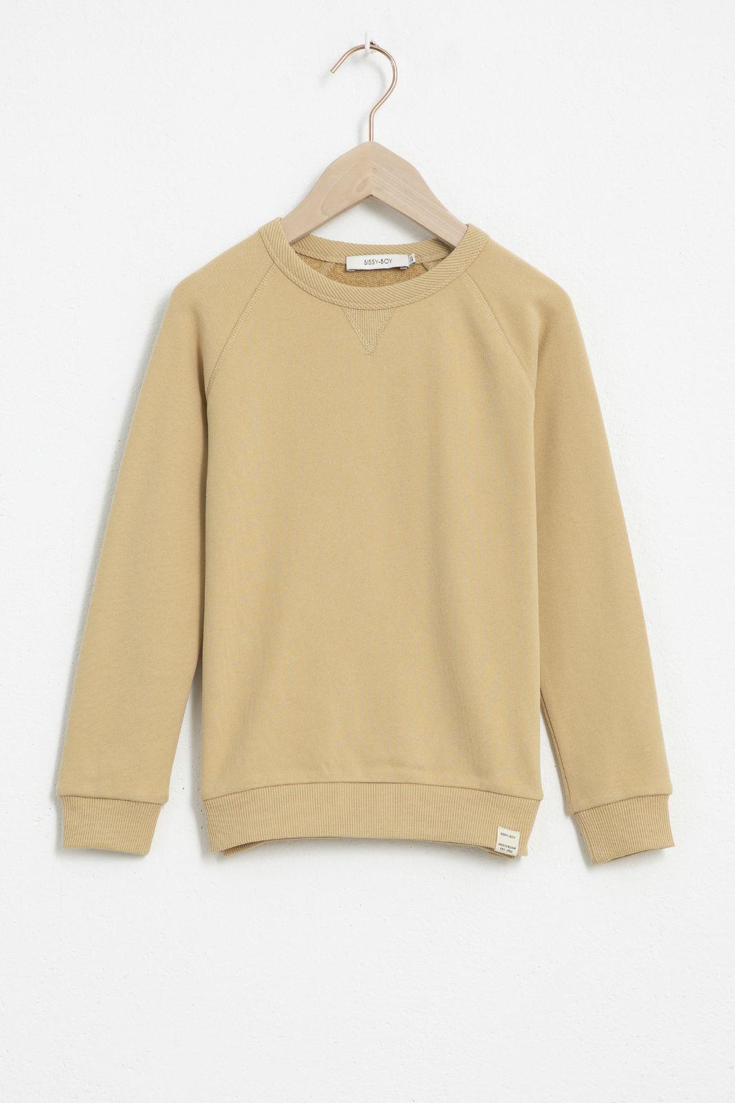 Beige katoenen sweater - Kids   Sissy-Boy