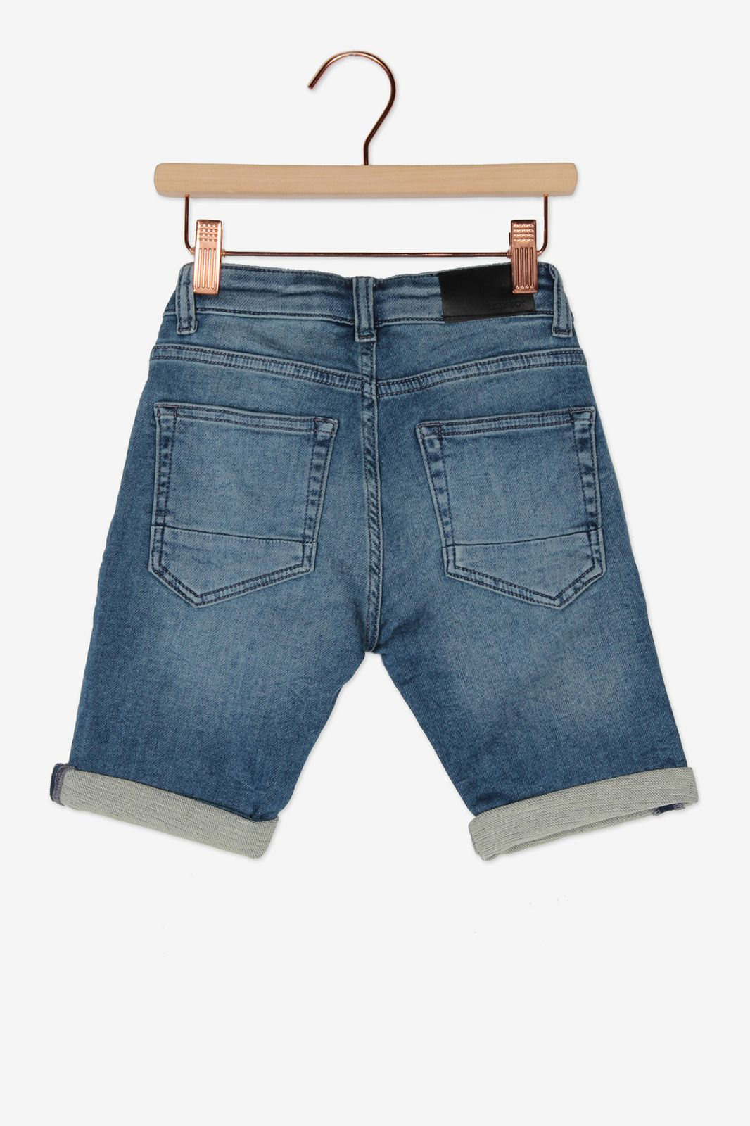 Strech denim short