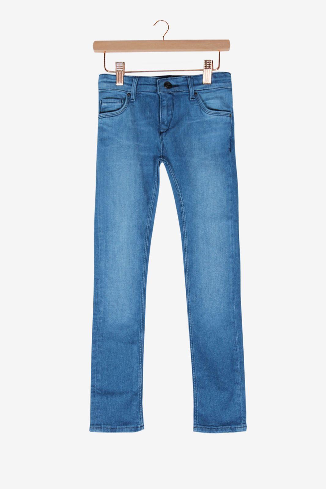 Donkerblauwe spijkerbroek