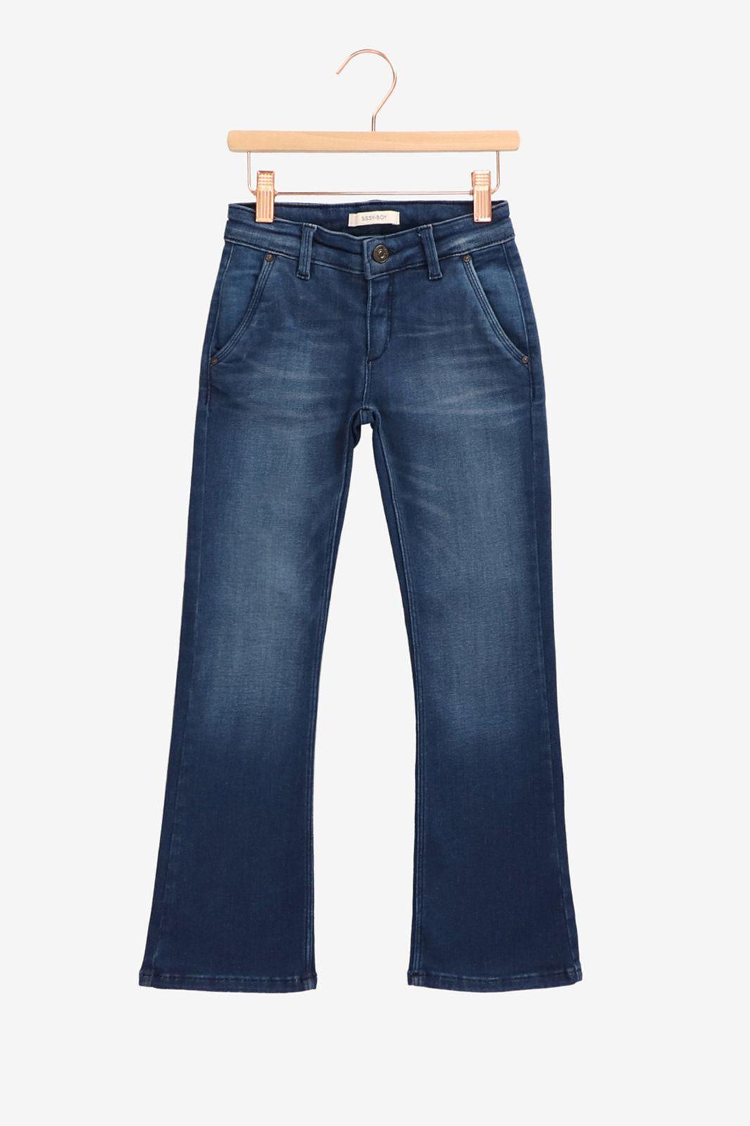 Donkerblauwe flared jeans - Kids | Sissy-Boy