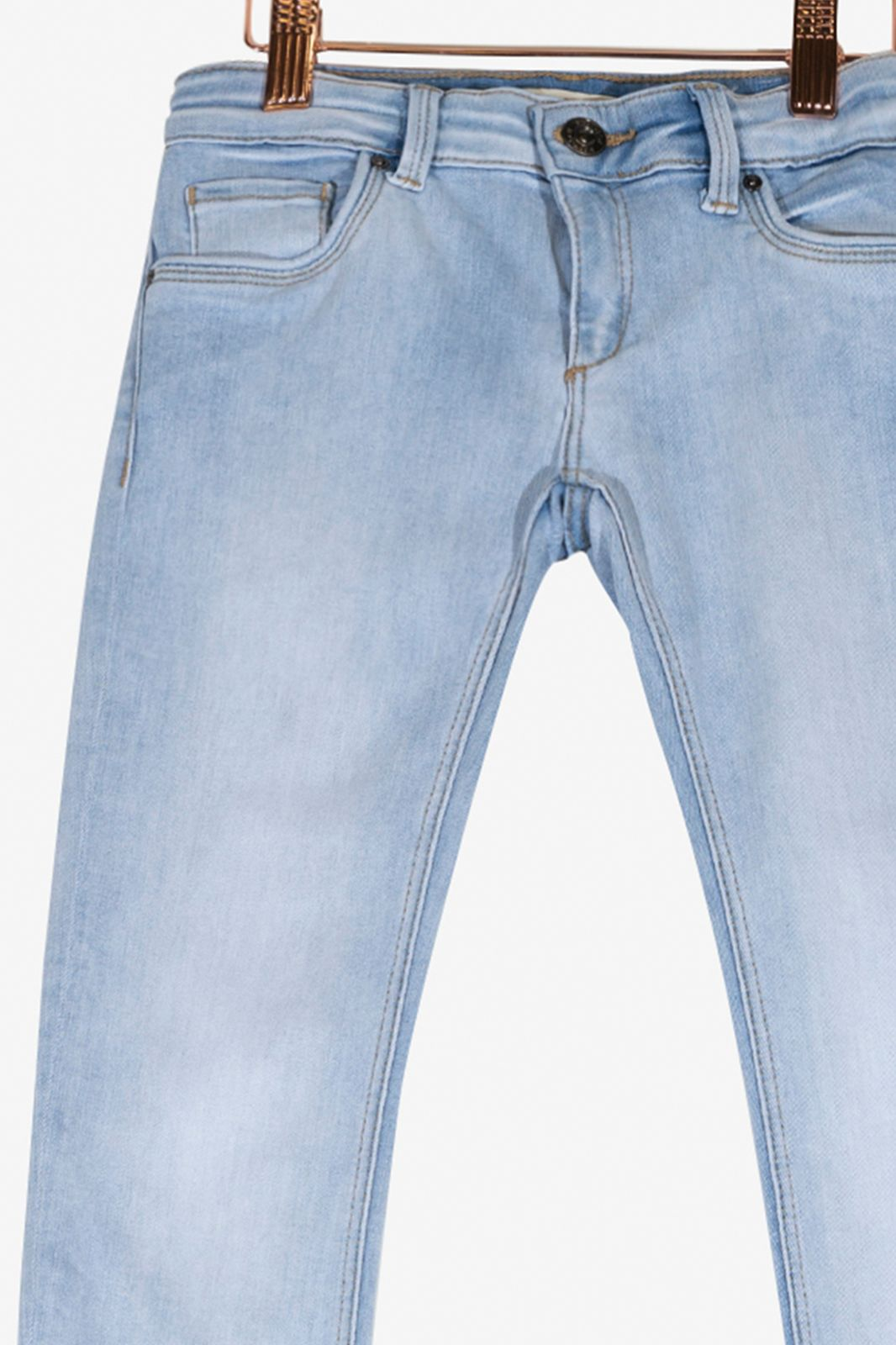Skinny jeans bleached