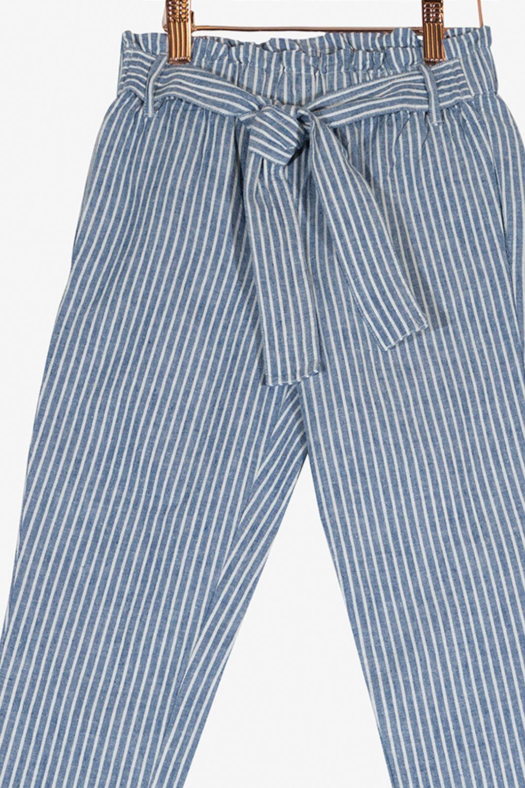 Blauwe broek gestreept - Kids | Sissy-Boy