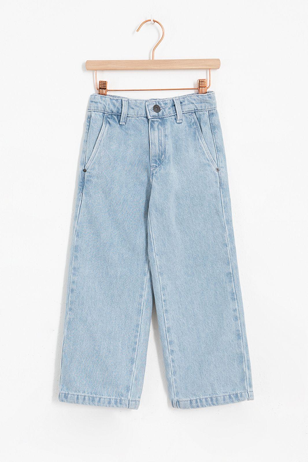 Blauwe culotte denim jeans - Kids | Sissy-Boy