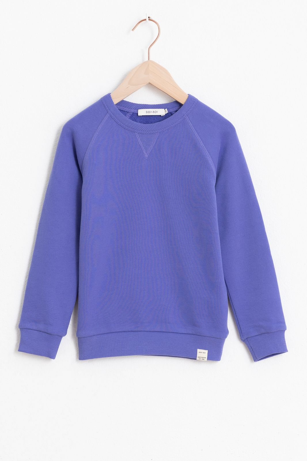 Blauwe basic sweater - Kids   Sissy-Boy