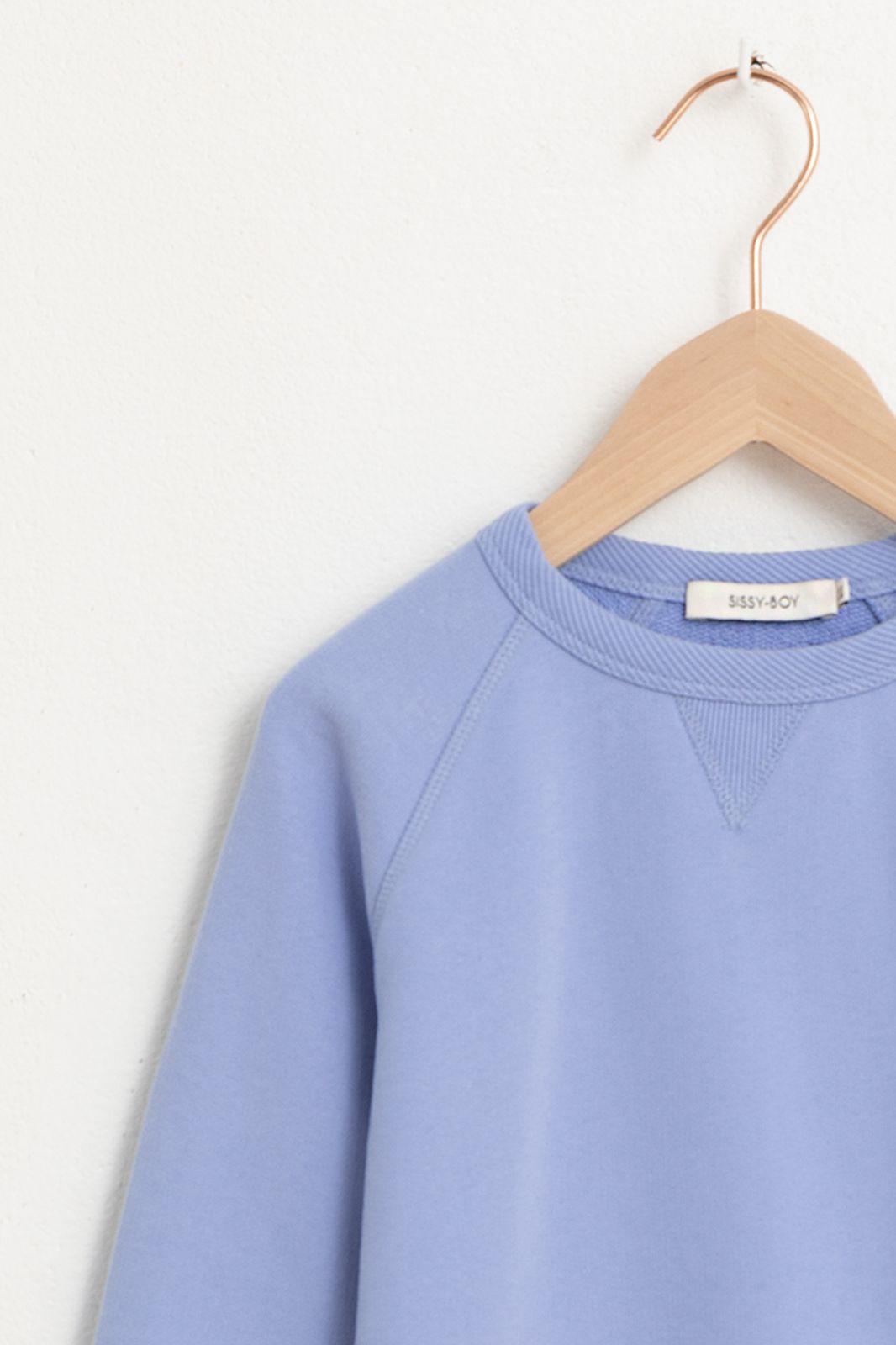 Blauwe sweater met lange mouw - Kids | Sissy-Boy