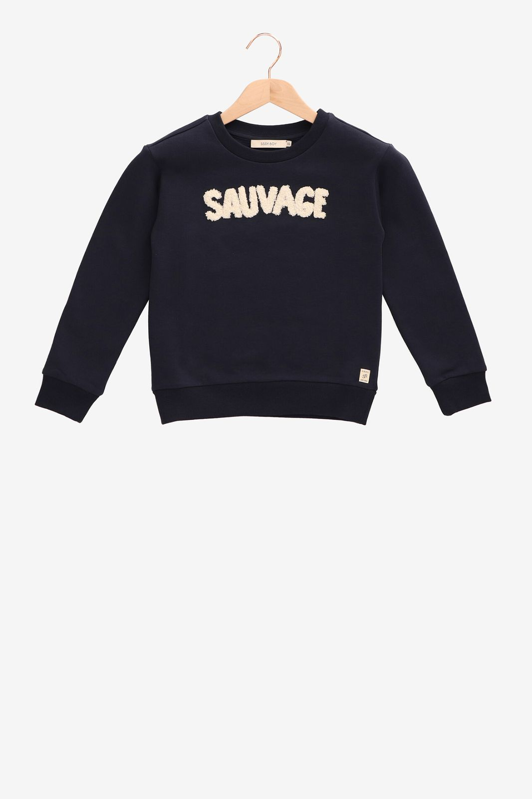 Donkerblauwe sweater Sauvage - Kids | Sissy-Boy