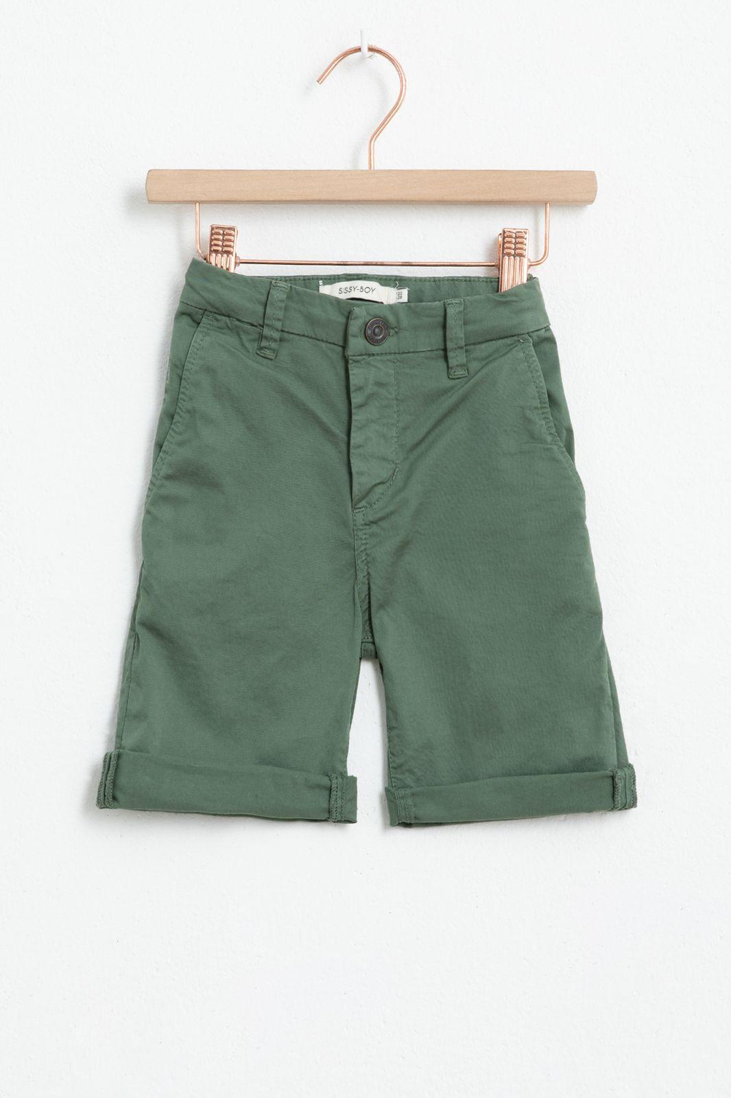Groene chino shorts - Kids | Sissy-Boy