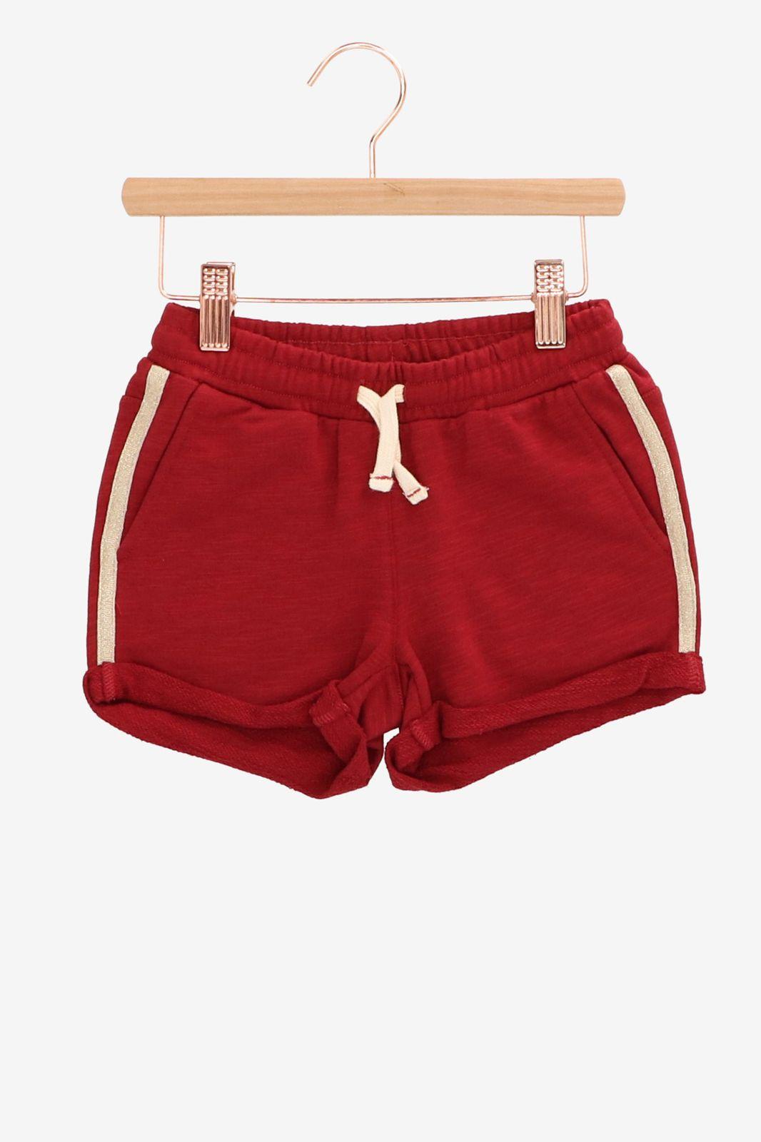 Rood jog shortje - Kids | Sissy-Boy