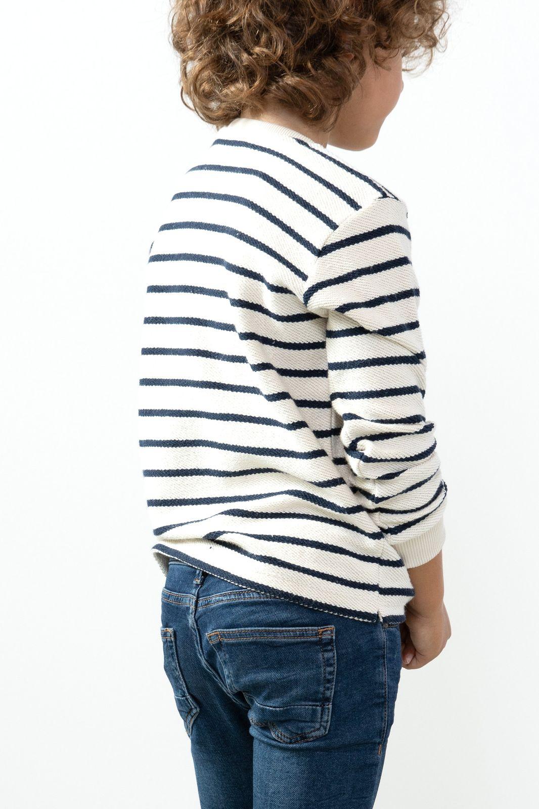 Ecru sweater met tekst - Kids   Sissy-Boy
