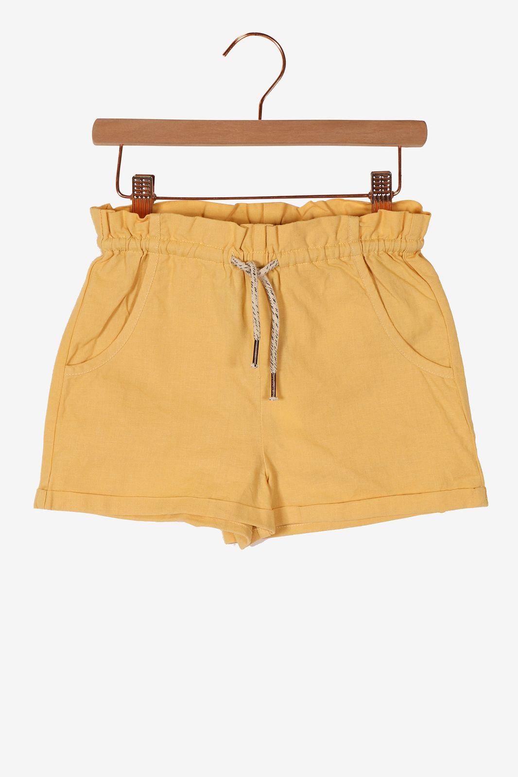 Geel paperbag short - Kids | Sissy-Boy