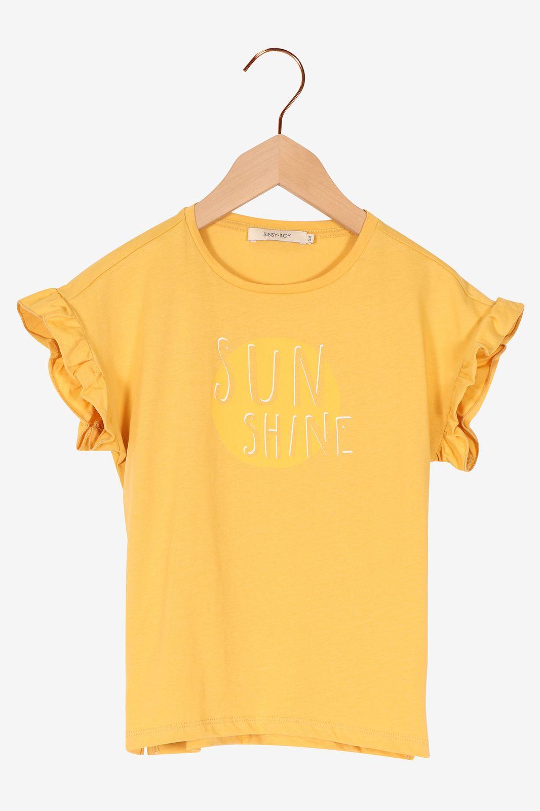 Geel t-shirt sunshine