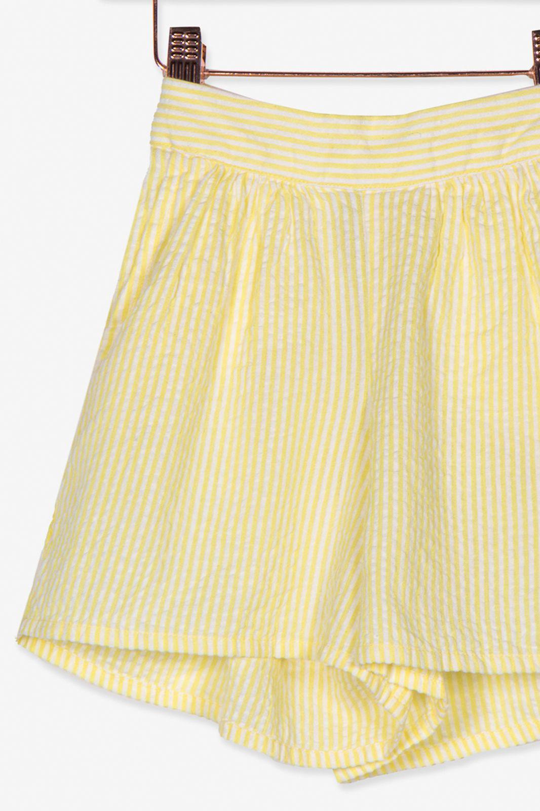 Geel gestreept shortje - Kids | Sissy-Boy