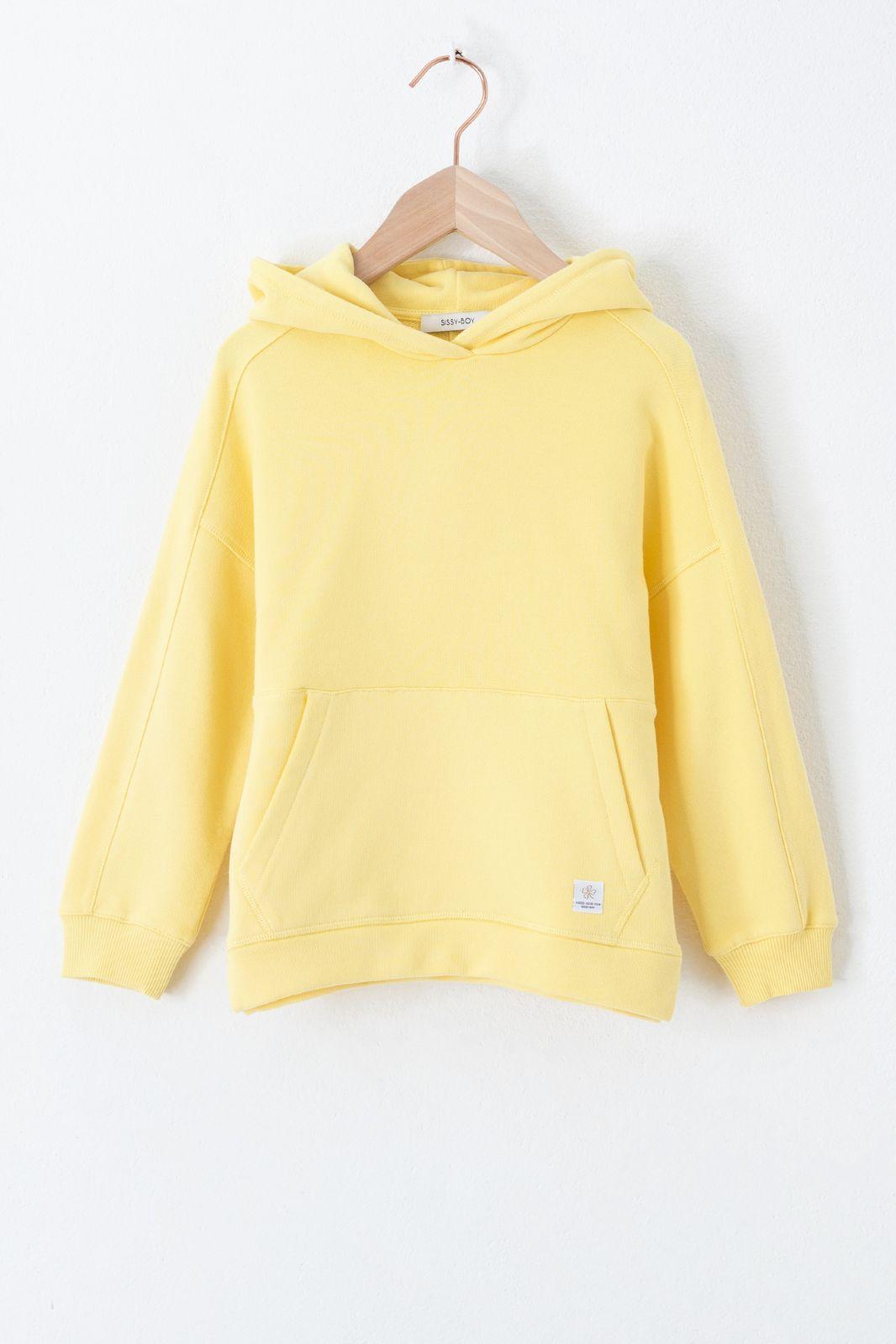 Gele hoodie - Kids   Sissy-Boy