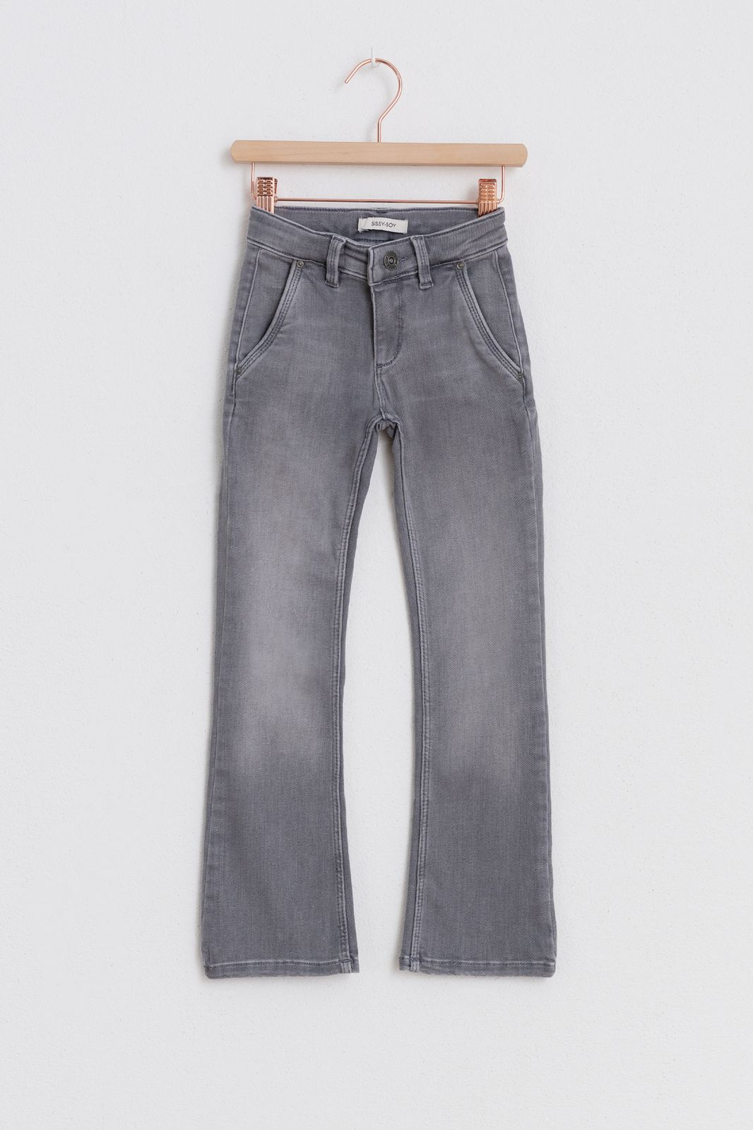 Grijze stretch jeans - Kids | Sissy-Boy