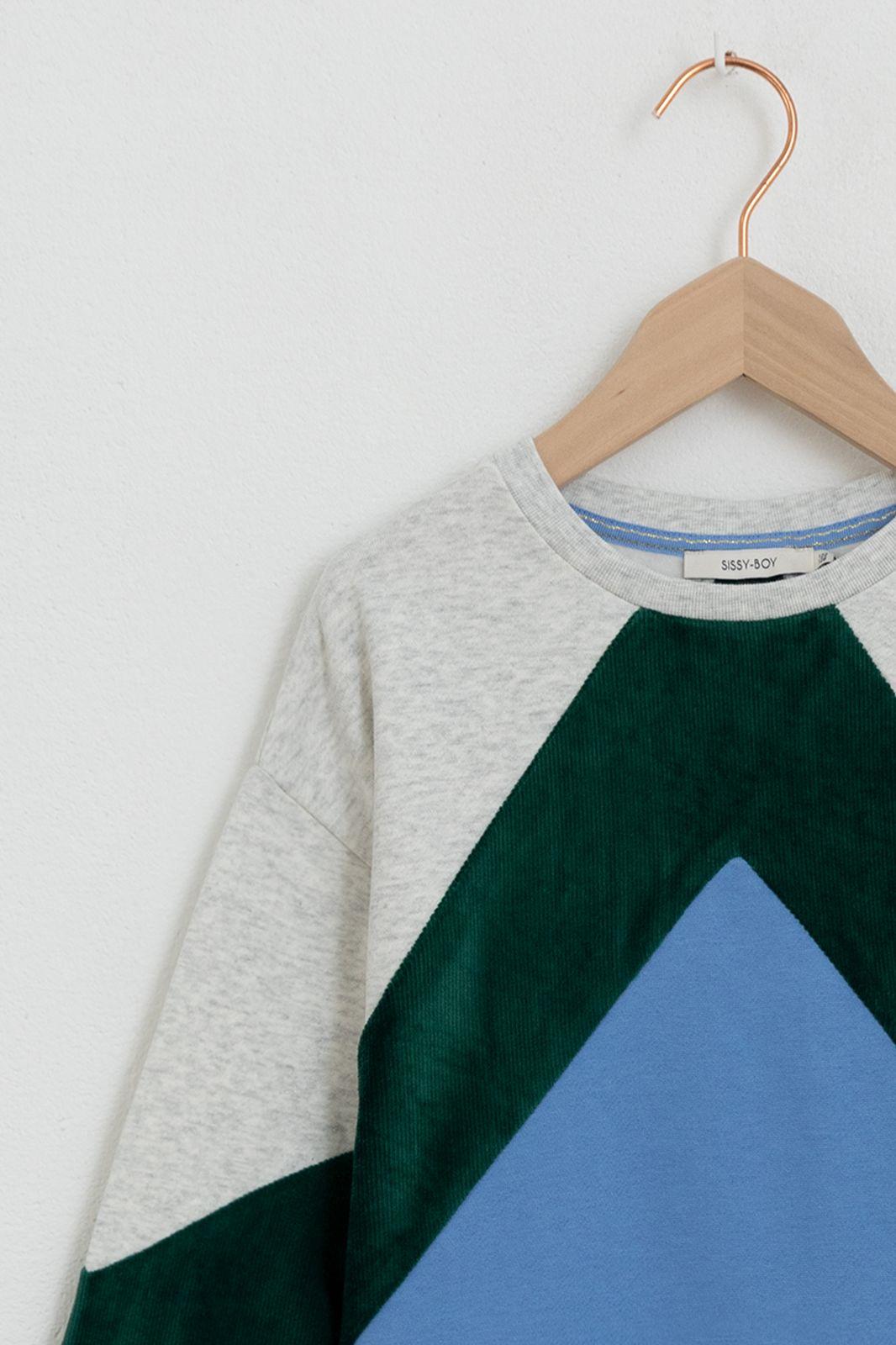 Colorblock sweater - Kids | Sissy-Boy