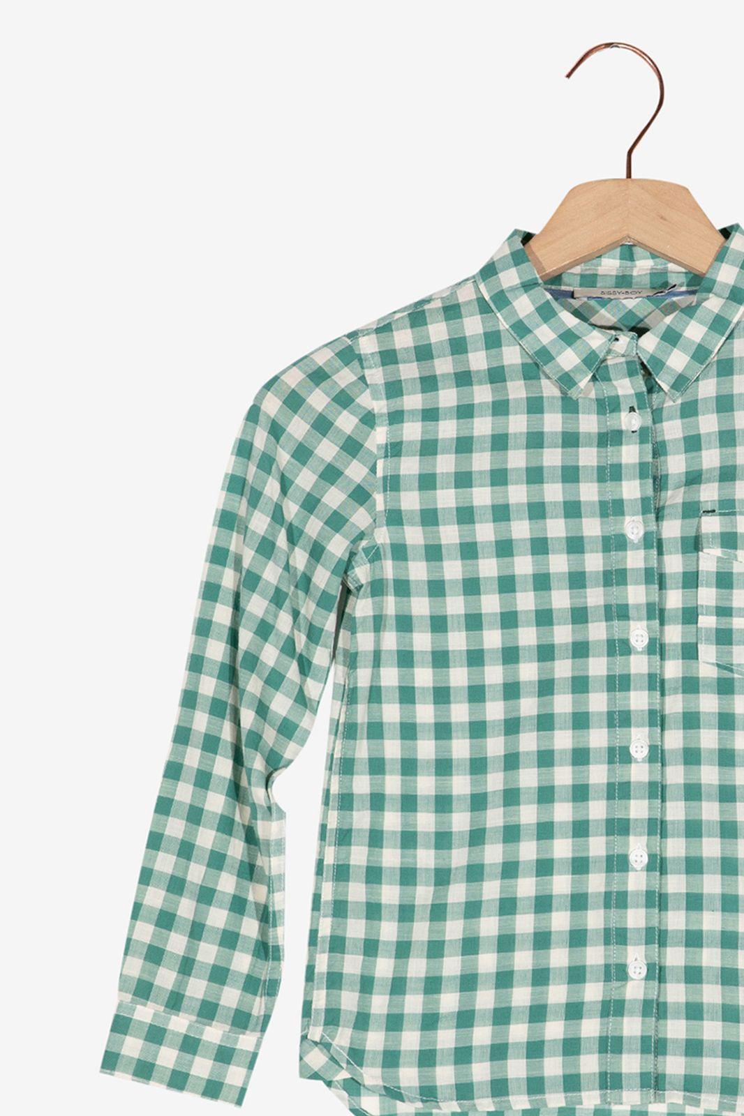 Groen geblokt overhemd - Kids | Sissy-Boy