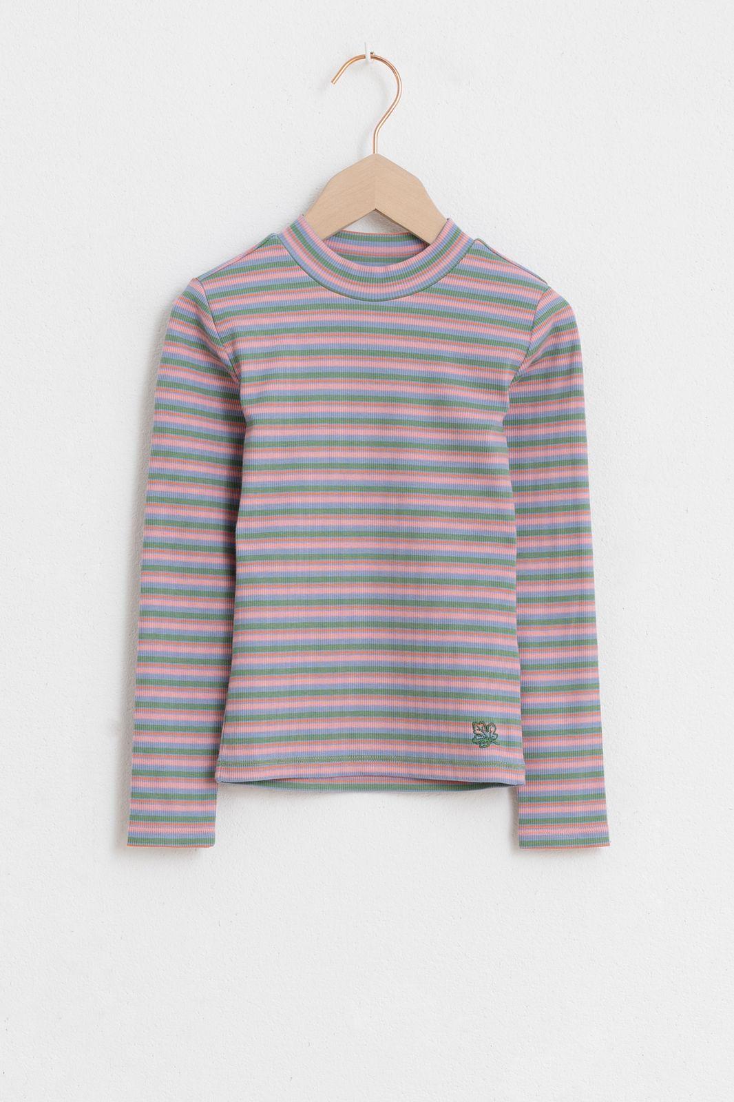 Multicolor t-shirt streep - Kids | Sissy-Boy